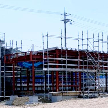 工場建設の歩み